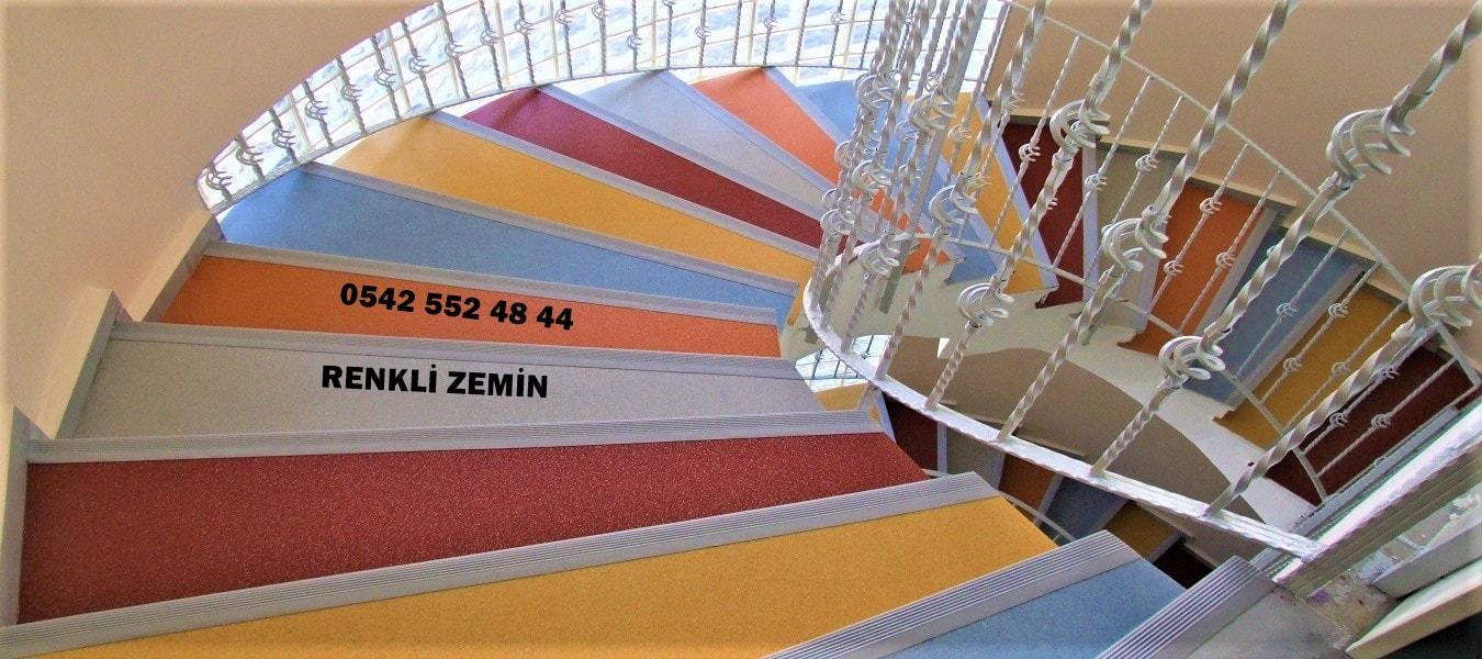merdiven döşemesi